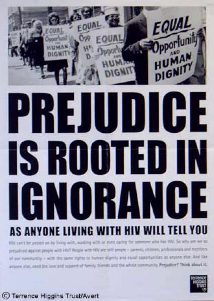 prejudice is the child of ignorance examples
