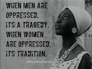 women oppressed