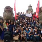Flashmob: BYIFL team