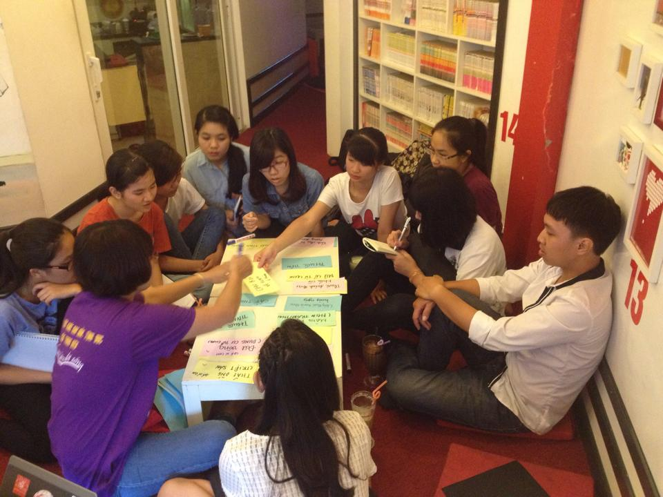 Participants at the ASAP's Youth Advocacy Training Institute, 2014